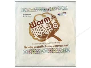 The Warm Company Batting: The Warm Company Warm and White Cotton Batting Queen 90 x 108 in.