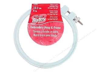 sewing & quilting: Susan Bates Plastic Embroidery Hoops 4 in. Blue