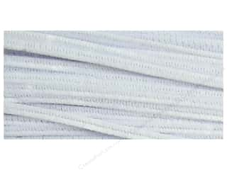 Chenille Stems by Accents Design 6 mm x 12 in. White 250 pc.