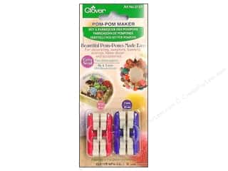 Clover Pom Pom Makers: Clover Pom Pom Maker - Extra Small 2 pc.