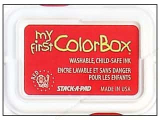Clearance ColorBox Premium Dye Ink Pad: My First ColorBox Dye Ink Pad Red