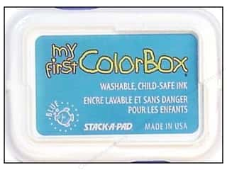 Clearance ColorBox Premium Dye Ink Pad: My First ColorBox Dye Ink Pad Blue