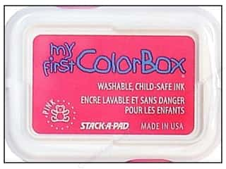 Clearance ColorBox Premium Dye Ink Pad: My First ColorBox Dye Ink Pad Pink