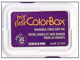 Clearance ColorBox Premium Dye Ink Pad: My First ColorBox Dye Ink Pad Violet
