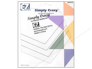 Weekly Specials EZ Acrylic Templates: EZ Quilting Simply Crazy Acrylic Template