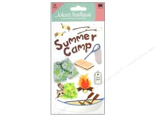 theme stickers  summer: Jolee's Boutique Stickers Large Summer Camp