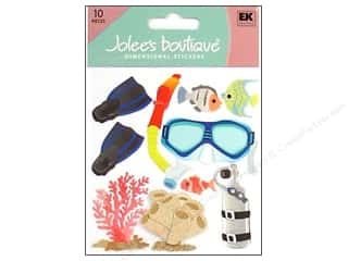 scrapbooking & paper crafts: Jolee's Boutique Stickers Snorkeling