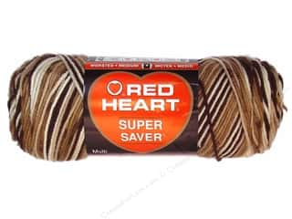 Red Heart Super Saver Yarn #0992 Shaded Brown 244 yd.