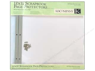 K&Company 12 x 12 in. Scrapbook Refill Kit 10 pc.
