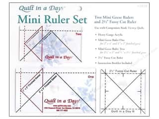 Weekly Specials Guidelines 4 Quilting Tools: Quilt In A Day Ruler Set Mini Geese