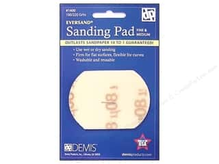 craft & hobbies: Eversand Carded Sanding Pads Small 100/220 Fine to Medium