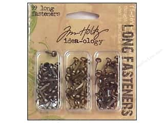 Tim Holtz Idea-ology Long Fasteners 99 pc.