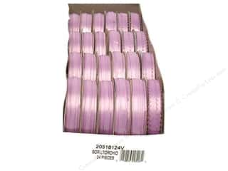 Offray Spool-O-Ribbon Double Face Satin Light Orchid (24 spools)