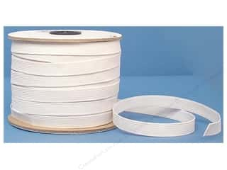 elastic: Conrad Jarvis Braided Flat Elastic 1/2 in x 60 yd White (60 yards)