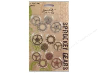 Tim Holtz Metallic Mixative: Tim Holtz Idea-ology Sprocket Gears