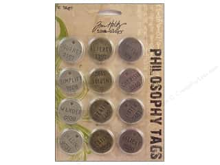 Tim Holtz Metallic Mixative: Tim Holtz Idea-ology Philosophy Tags