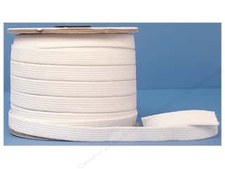 Sports Elastic: Conrad Jarvis Knit Elastic Reel 1/2 in x 50 yd White (50 yards)