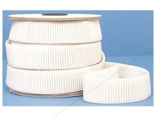 underwear elastic: Conrad Jarvis Ribbed Non Roll Elastic Reel 1 in x 12 yd White (12 yards)