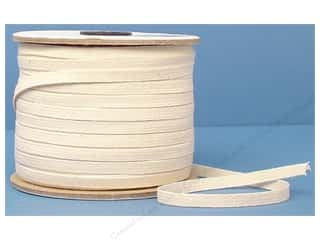 Conrad Jarvis Cotton Swim Elastic Reel 1/4 in x 120 yd Natural (120 yards)