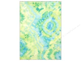 CPE: CPE Printed Felt 9 x 12 in. Tie Dye Lime 12 pc (12 sheets)