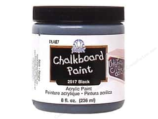 craft & hobbies: Plaid FolkArt Chalkboard Paint 8 oz. Black