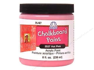 craft & hobbies: Plaid FolkArt Chalkboard Paint 8 oz. Hot Pink