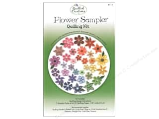 quilling: Quilled Creations Quilling Kit Flower Sampler