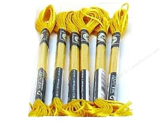 DMC Satin Embroidery Floss #S3820 Buttercup