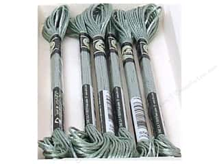 yarn & needlework: DMC Satin Embroidery Floss #S504 Rosemary Green (6 skeins)