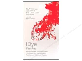 Jacquard iDye for Natural Fabrics Fire Red