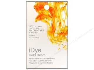 craft & hobbies: Jacquard iDye for Natural Fabrics Gold Ochre