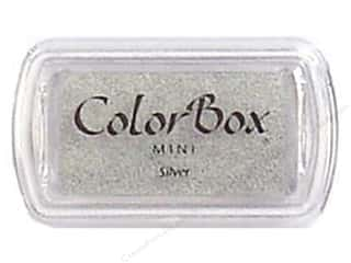stamps: Colorbox Mini Pigment Inkpad Silver