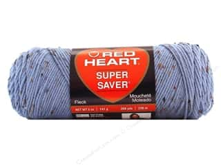 Red Heart Super Saver Yarn #4321 Spa Blue Fleck 260 yd.