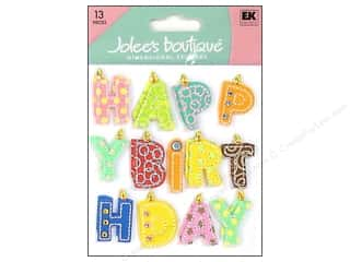stickers: Jolee's Boutique Stickers Happy Birthday Word