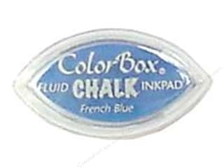 Clearance ColorBox Fluid Chalk Ink Pad Queues: ColorBox Fluid Chalk Inkpad Cat's Eye French Blue