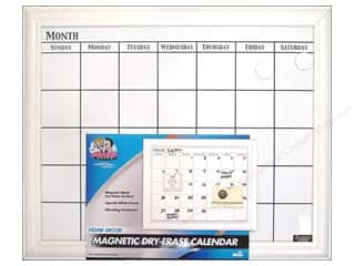 Erasers: The Board Dudes Dry Erase Calendar 22 x18 in. White