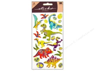 scrapbooking & paper crafts: EK Sticko Stickers Dinosaur