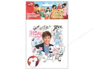 Wrights Iron On Transfers Disney High School Musical Troy