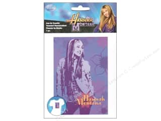 Wrights Iron On Transfers Disney Hannah Montana Pose