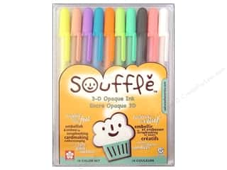 Sakura Souffle 3-D Opaque Pen Set 10 pc