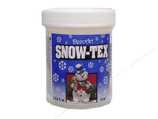 DecoArt: DecoArt Snow-Tex Hard Jar 4oz