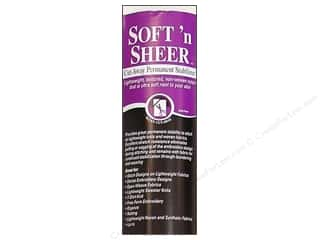 knit interfacing: Sulky Soft 'n Sheer Cut-Away Stabilizer 20 in. x 5 yd. White