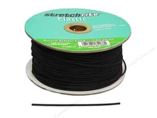 Stretchrite Elastic Cord Round 1/16 in. x 144 yd Black (144 yards)