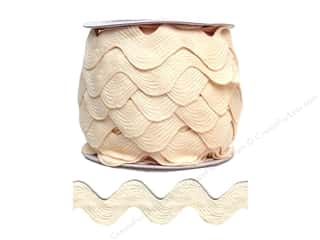 Cheep Trims Jumbo Ric Rac 1 13/32 in. Ivory (24 yards)