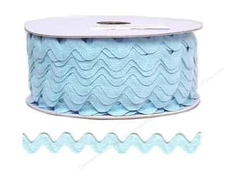 sewing & quilting: Ric Rac by Cheep Trims  11/16 in. Light Blue (24 yards)