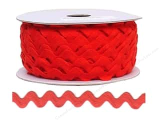 Cheep Trims Ric Rac 11/16 in. Red (24 yards)