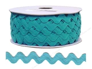 Cheep Trims Ric Rac 11/16 in. Turquoise (24 yards)