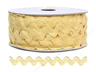 Ric Rac by Cheep Trims  11/16 in. Butter
