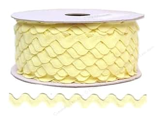 sewing & quilting: Ric Rac by Cheep Trims  11/16 in. Maize (24 yards)