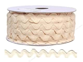 Ric Rac by Cheep Trims  11/16 in. Ivory